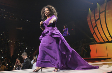 Oprah in Newark