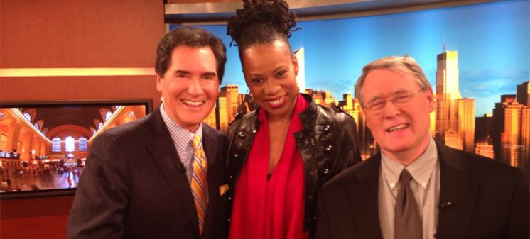 Lisa Durden With Ernie Enastos On Fox 5 News Live At 6pm