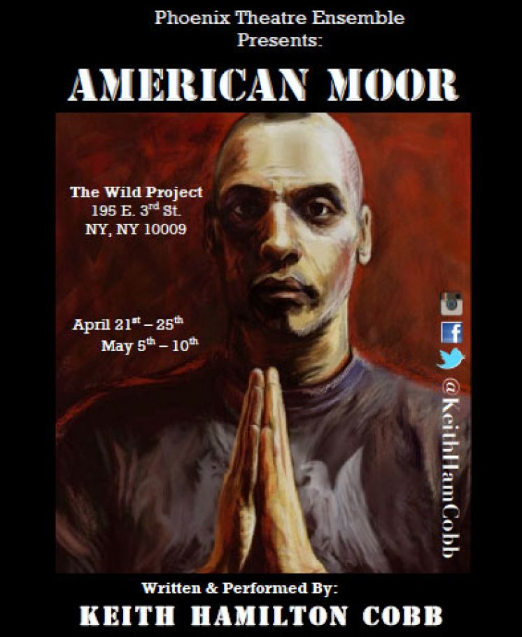 """American Moor,"" coming to New York"
