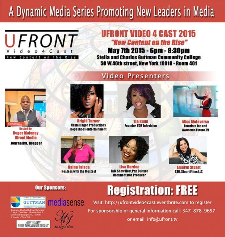 Lisa Durden, a Presenter at Ufront Women Content Creators On The Rise!