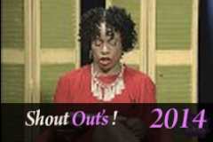 Shout Outs 10 29 14
