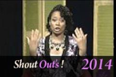 Shout Outs 11 25 14