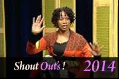 Shout Outs 04 04 14