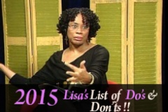Lisa's List of Do's and Dont's 2015