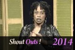 Shout Outs 12 19 14