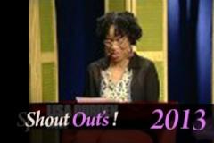Shout Outs 2 13 13